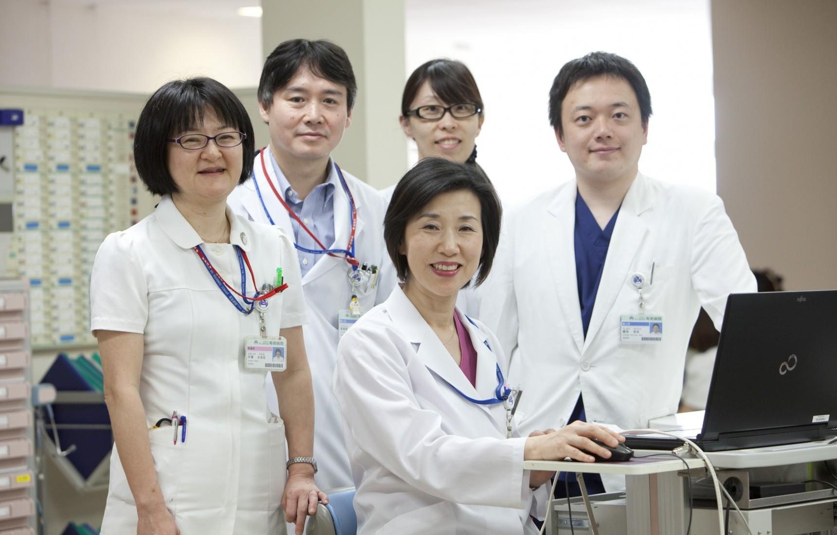 Диагностика в Японии - команда японских докторов